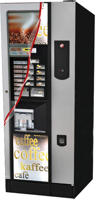 Upgraded vending machine, I-touch screen vending machine, NFD vending machine upgrade kit